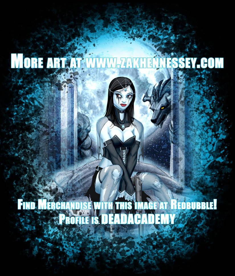 Supernatural Goth Girl Vampire Hunter by LazarusReturns