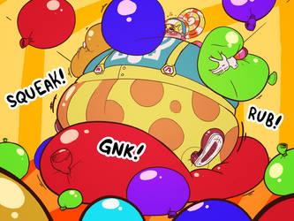 Lola Pop's Balloon Fun by Chubnbass [Gift] by reimarisakuya