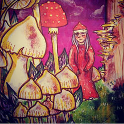 Wandering in the Land of the Mushrooms by Lydia-distracted
