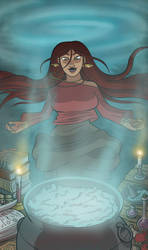 Witchy Woman by lightfootcomics