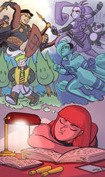 The Dreamer by lightfootcomics