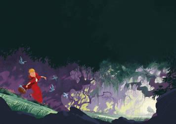 Red Riding Hood by T-U-L-P
