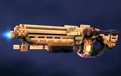 Pixel ShotGun by AlexBroAnimator