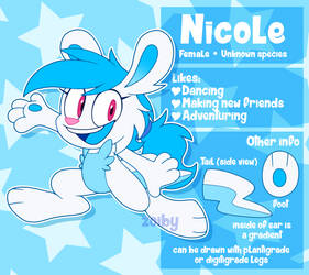 Nicole Ref Sheet by Zoiby