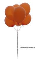 balloons PNG 2 by EveBlackwoodStock