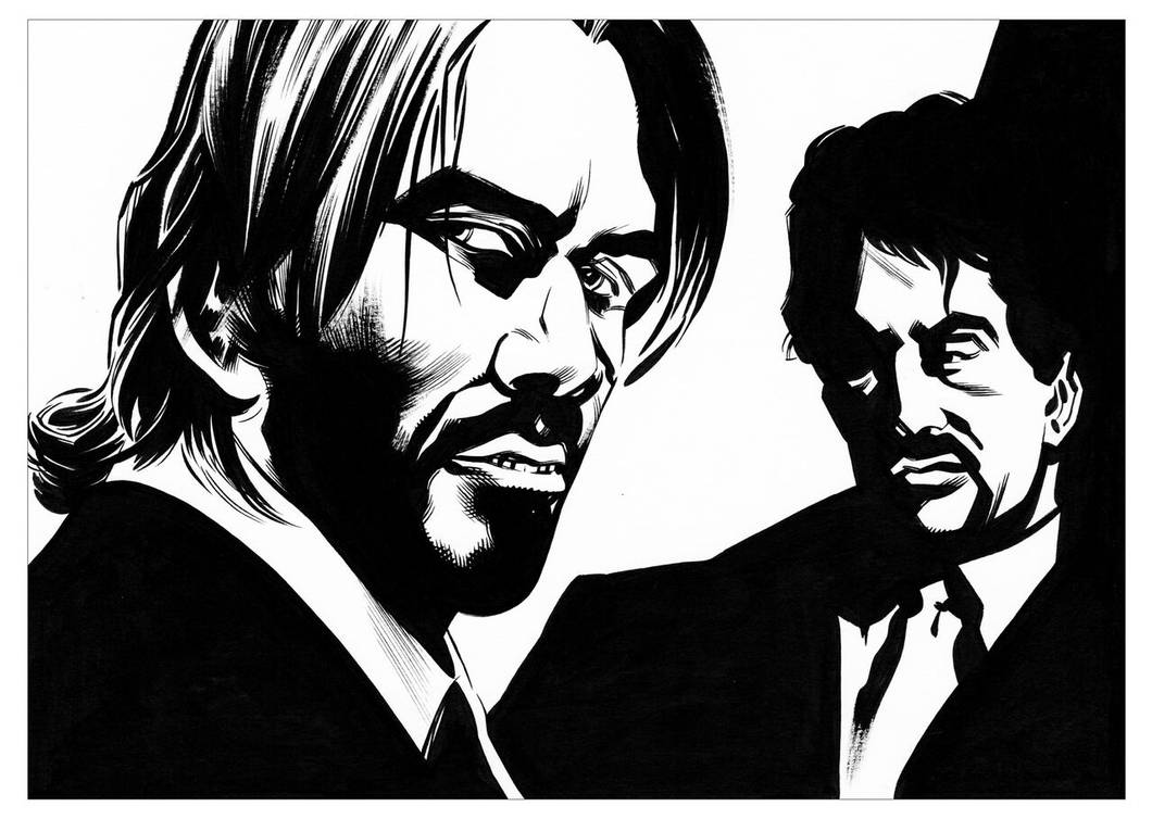 John Wick and Jack Carter by CJZ