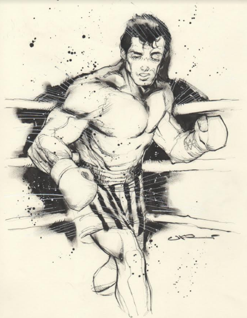 Uko Smith Takes on Rocky Balboa by CJZ
