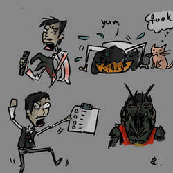 District 9, sketch 1 by Ayej