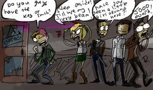 Silent Hill, doodles 3 by Ayej