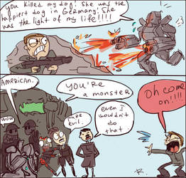 Wolfenstein - The Old Blood by Ayej