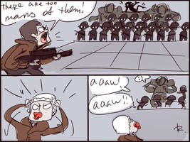 Wolfenstein: The New Order, doodles 6 by Ayej