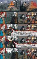 The Witcher 3, doodles 38 by Ayej
