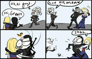 The Witcher 3, doodles 52 by Ayej
