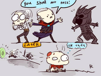 The Witcher 3, doodles 64 by Ayej