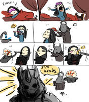 The Witcher 3, doodles 62 by Ayej