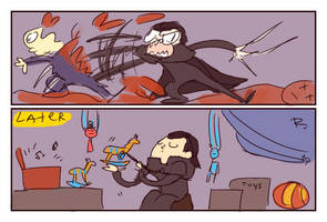 The Witcher 3, doodles 100 by Ayej