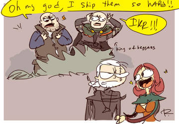 The Witcher 3, doodles 114 by Ayej