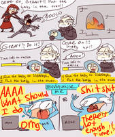 The Witcher 3, doodles 116 by Ayej