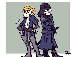 The Witcher 3, doodles 117 by Ayej