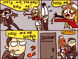 Silent Hill, doodles 8 by Ayej