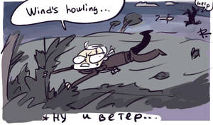 The Witcher 3, doodles 125 by Ayej