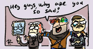 The Witcher 3, doodles 126 by Ayej