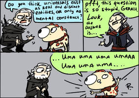 The Witcher 3, doodles 130 by Ayej