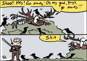 The Witcher 3, doodles 135 by Ayej