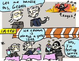 The Witcher 3, doodles 154 by Ayej