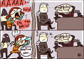 The Witcher 3, doodles 155 by Ayej
