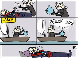 The Witcher 3, doodles 156 by Ayej