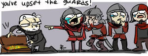 The Witcher 3, doodles 157 by Ayej