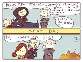 The Witcher 3, doodles 170 by Ayej