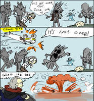 The Witcher 3, doodles 180 by Ayej