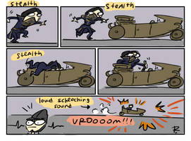 dishonored 2, doodles 18 by Ayej
