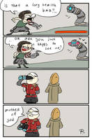 Bionic Commando, doodles 26 by Ayej
