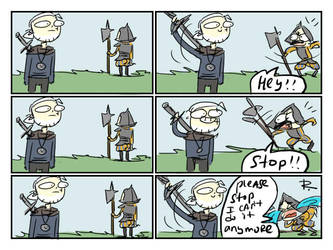 The Witcher 3, doodles 212 by Ayej