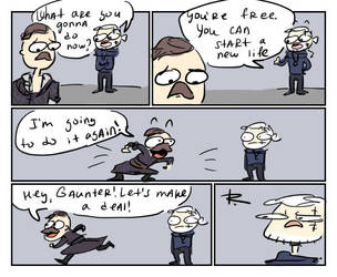 The Witcher 3, doodles 213 by Ayej