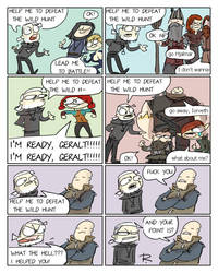The Witcher 3, doodles 240 by Ayej
