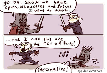 The Witcher 3, doodles 278 by Ayej