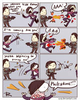 The Evil Within 2, comics 3 by Ayej