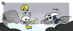 Hollow Knight, doodles 9 by Ayej