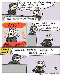 The Witcher 3, doodles 296 by Ayej