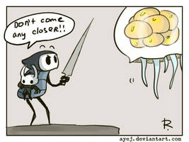 Hollow Knight, doodles 18 by Ayej