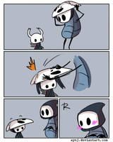 Hollow Knight, doodles 19 by Ayej