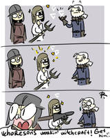 The Witcher 3, doodles 311 by Ayej