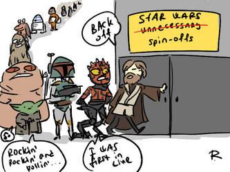 Disney Star Wars by Ayej