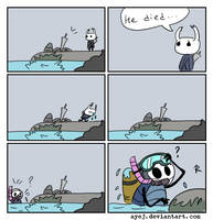 Hollow Knight, doodles 23 by Ayej