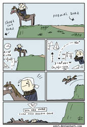 The Witcher 3, doodles 319 by Ayej
