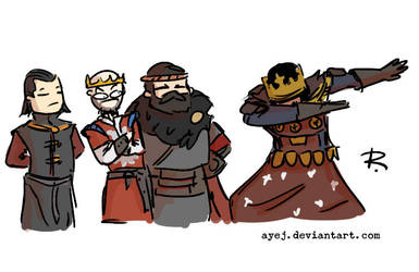 The Witcher 3, doodles 321 by Ayej